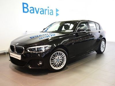 begagnad BMW 120 i 5-dörrars 5-door Steptronic M Sport Connected Hifi