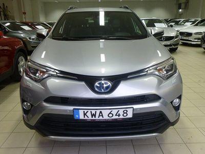begagnad Toyota RAV4 Hybrid E-FOUR