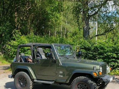 begagnad Jeep Wrangler 4.0