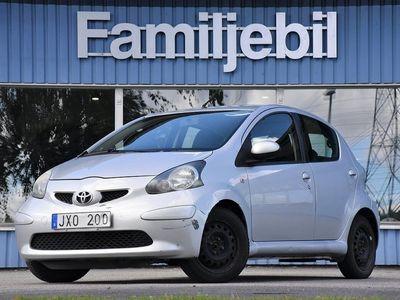 begagnad Toyota Aygo 5-dörrar 1.0 VVT-i (68hk)Kamkedja/Ny bes/Svenskåld
