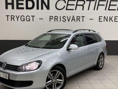 begagnad VW Golf Variant 1.6 TDI DSG V-HJUL NAVI