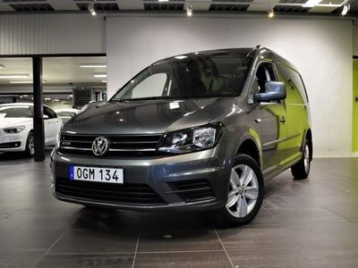 begagnad VW Caddy Maxi 2.0 (150hk) TDI BlueMotion 4Motion DSG Sekventiell