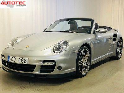 begagnad Porsche 911 Turbo Cabriolet /997 Manuell Cab 480