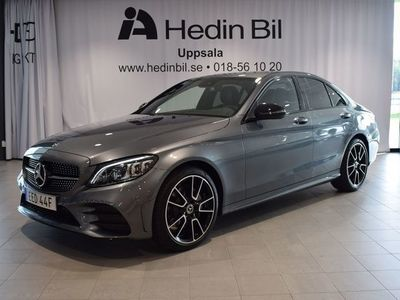 begagnad Mercedes C220 D 4MATIC //Nightpackage // AMG // Premiumpkt