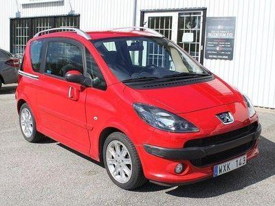begagnad Peugeot 1007 1.6 AUTOMAT 109hk 0:- KONT 0% RÄNTA