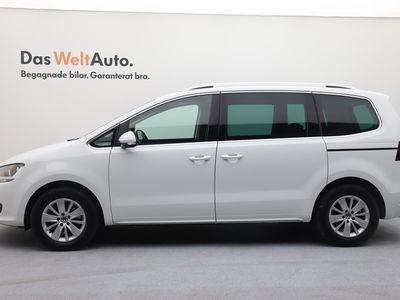 begagnad VW Sharan TDI 150 Man. Drag Parkeringsvärmare Euro 6