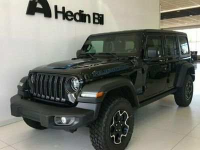 begagnad Jeep Wrangler PHEV RUBICON 2.0 4 DÖRRAR MY21 2021, SUV Pris 733 950 kr