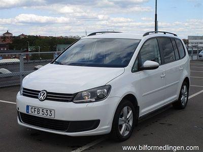gebraucht VW Touran Cross 1.4 TGI EcoFuel 150hk, DSG, 7-sitsig, Svensksåld