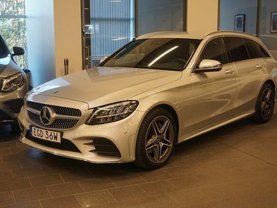 begagnad Mercedes C220 d 4MATIC Aut AMG Line Värmare