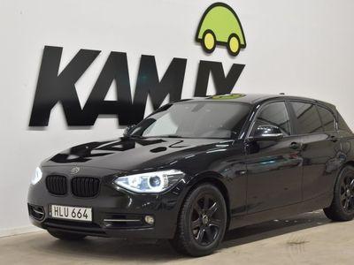 begagnad BMW 120 d 5-door Steptronic Sport Line 184hk