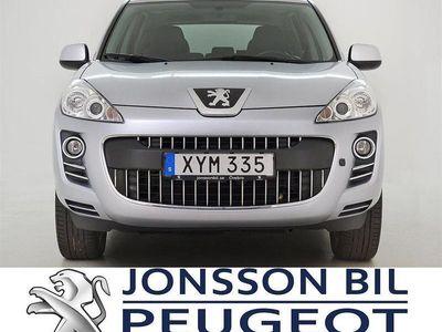 begagnad Peugeot 4007 4WD 156HK DRAGKROK