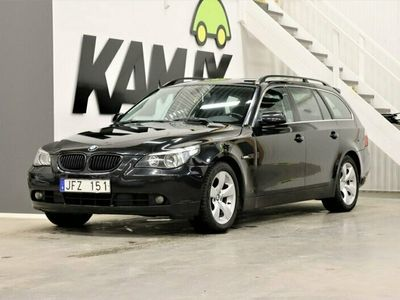 begagnad BMW 525 i Aut Drag Skinn Nyservad