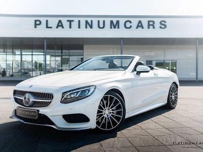 begagnad Mercedes 500 S-KlassCAB AMG DESIGNO BURMESTER 1600mil
