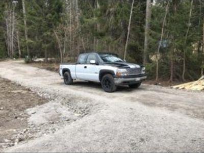 begagnad Chevrolet Silverado 4x4 -01