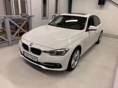 begagnad BMW 318 d xDrive Sedan Sport line Euro 6 150hk