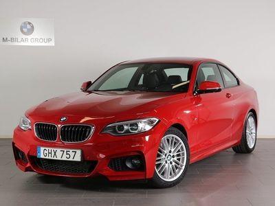 begagnad BMW 220 d Coupé / M Sport / Automatisk Sportv -14