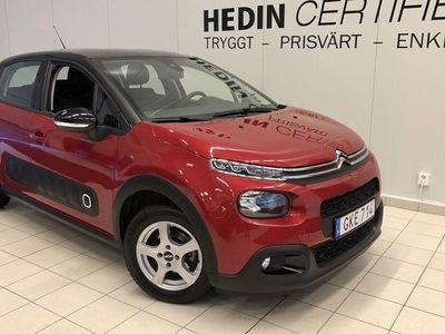 begagnad Citroën C3 1.2 PureTech Feel ink. som- & vint-hjul, NYSERVAD