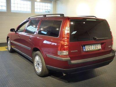 begagnad Volvo V70 2,4 140hk Automat Helläderklädsel Kombi