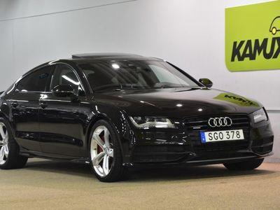begagnad Audi A7 3.0 TDI V6 quattro Navi backkamera Bose Head up 313hk