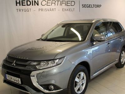begagnad Mitsubishi Outlander PHEV BUSINESS MOTORVÄRMARE S+V-HJUL