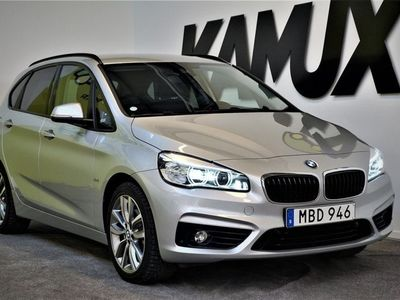 begagnad BMW 220 xDrive | Sport line | Nav | Drag | S&V hjul