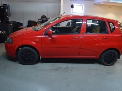 begagnad Chevrolet Kalos 5-dörrar 1.4 LÅGMIL NYBYTT KAMREM 2005, Kombi 14 900 kr