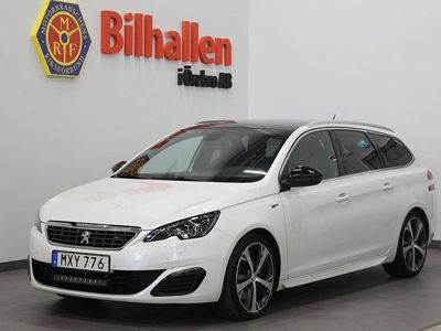 begagnad Peugeot 308 2.0 HDi SW Blue GT Line Automat /D-Värmare /Drag