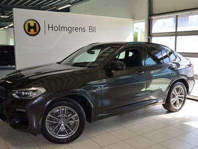 begagnad BMW X4 xDrive20d M Sport Navi Värmare Drag HiFi Backkamera