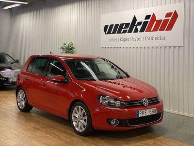 begagnad VW Golf 5-dörrar 1.8 TSI Sport 160hk / Drag / motorvärmare