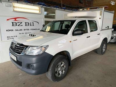 begagnad Toyota HiLux Double Cab 2.5 4x4 Manuell, 144h -14