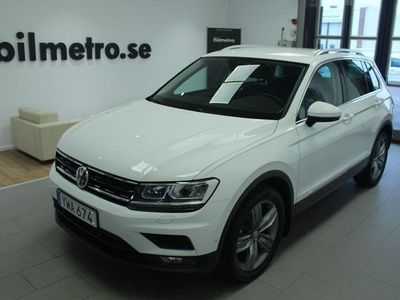begagnad VW Tiguan TDI 150 DSG 4M Värmare/Drag