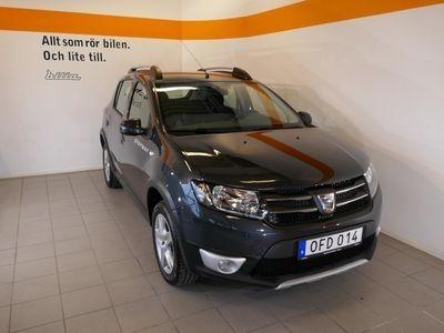 begagnad Dacia Sandero 0,9 90hk Stepway Prestige Navigation Blåtand