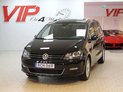 begagnad VW Sharan 2.0 (150hk) TDI Navi Panora -16
