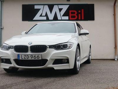 begagnad BMW 318 d Sedan M Sport, Blue Performance Eur -15