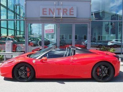 begagnad Ferrari 458 Spider - påkostad 2014, Cab 2 050 000 kr