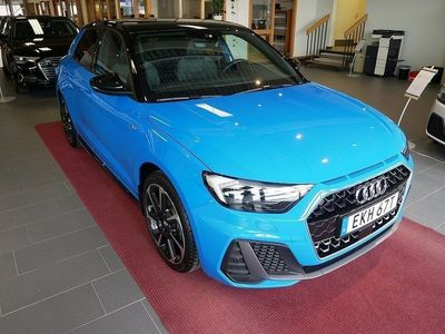 used Audi A1 30 TFSI S-Line Snygg!