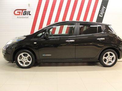 begagnad Nissan Leaf 30 kWh GPS Backkamera 109hk