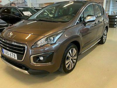 begagnad Peugeot 3008 Allure 1.6 BlueHDi Manuell 2015, SUV Pris 129 900 kr