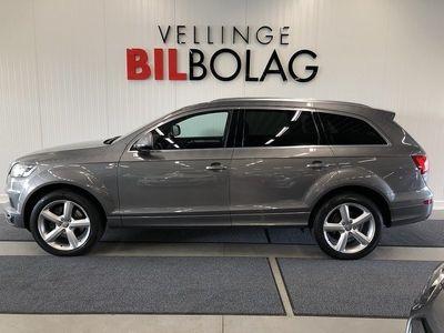 begagnad Audi Q7 3,0TDI S-Line SV-Såld Navi -12