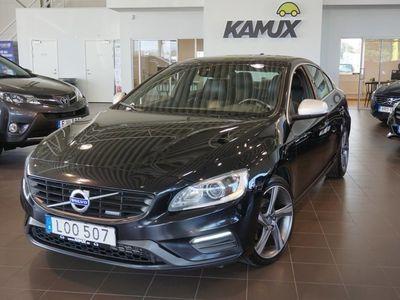 begagnad Volvo S60 D4 R-design Drag S&V-Hjul (181hk)