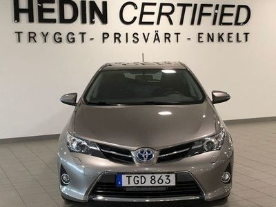 brugt Toyota Auris Hybrid 1.8 VVT-i + 3JM CVT 136hk