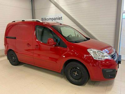 begagnad Peugeot Partner Skåpbil 1.6 BlueHDi Euro 6 120hk
