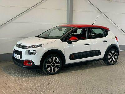 begagnad Citroën C3 PureTech SHINE 2017, Halvkombi 112 900 kr