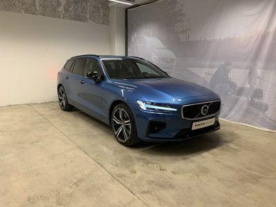 begagnad Volvo V60 T6 TE R-Design, Selekt, On Call, Parkeringskamera 360, Navigation, Dragkrok Halvautomatisk, Farthållare, Panoramaglastak