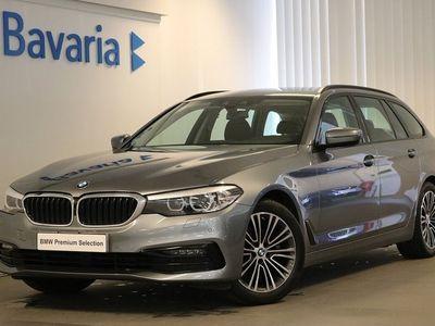 begagnad BMW 520 d xDrive Touring Sport line Drag Nav Nypris