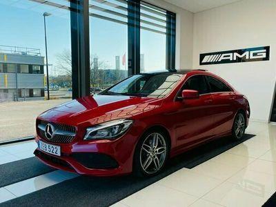 begagnad Mercedes 180 CLA BenzCOUPE AMG LINE PANORAMA CARPLAY 2018, Sportkupé Pris 249 900 kr