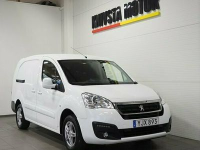 begagnad Peugeot Partner Skåpbil 1.6 PRO L2H1 Euro 6 2017, Transportbil 129 900 kr