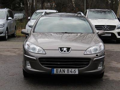 begagnad Peugeot 407 2.2 SW PANORAMA 163hk