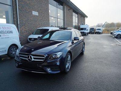 used Mercedes E220 4Matic Kombi AMG Sky Värmare