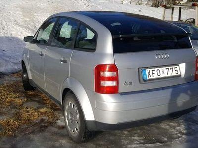 begagnad Audi A2 1,4 bensin -00